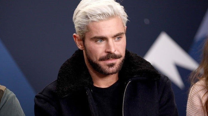 zac efron blond hair getty images