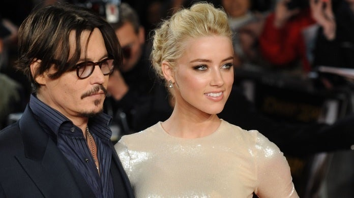 amber heard johnny depp getty images 2011