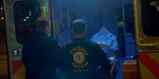 American Idol ambulance