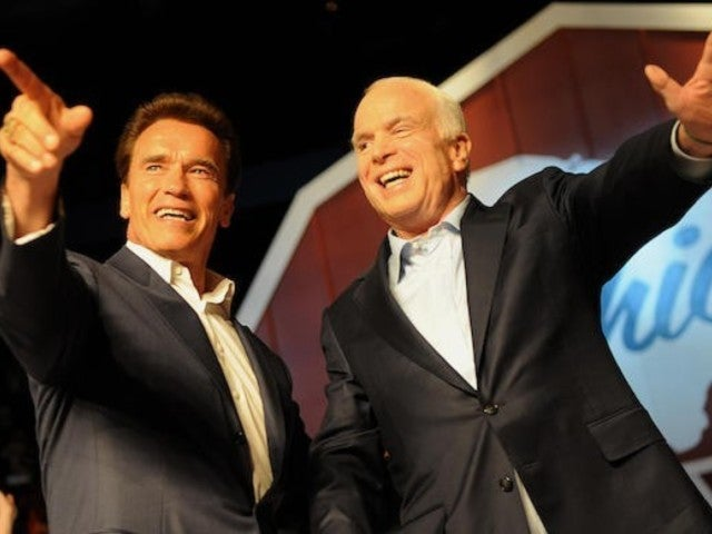 Arnold Schwarzenegger Blasts President Trump in Wake of John McCain Attacks