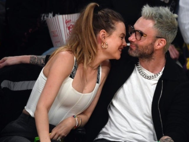 Behati Prinsloo Celebrates Husband Adam Levine's 40th Birthday With Steamy Snapshot