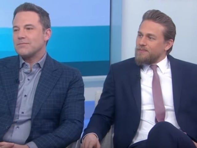 Charlie Hunnam Ignored by Hoda Kotb During 'Today' Interview With Ben Affleck