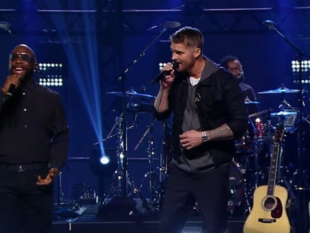 Boyz II Men and Brett Young Team Up for Epic 'CMT Crossroads' Rendition of 'End of the Road'