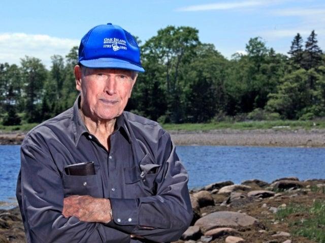 'Curse of Oak Island' Star Dan Blankenship Dead at 95