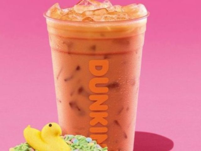 Dunkin's Debuts Peeps Flavored Coffee and Donut