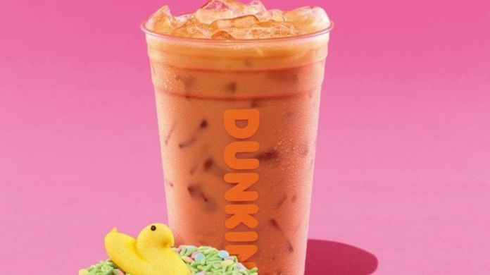 dunkin-donuts-peeps-marshmallow-flavored-coffee
