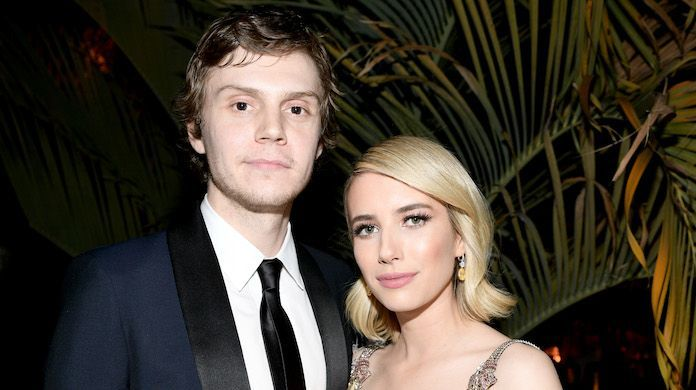 emma-roberts-evan-peters_getty-Emma McIntyre:VF18 : Contributor