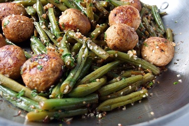 Green-Bean-and-Meatball-Stir-Fry-Recipe
