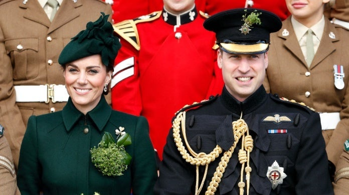 kate middleton prince william st patricks