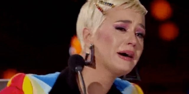 Katy Perry Crying