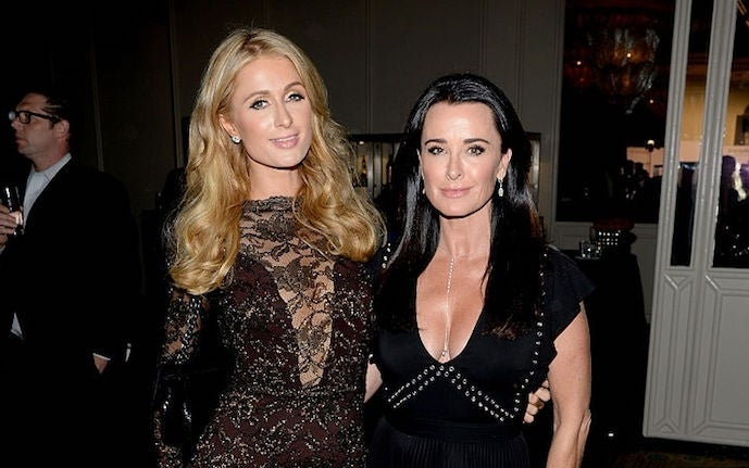 Kyle Richards Paris Hilton