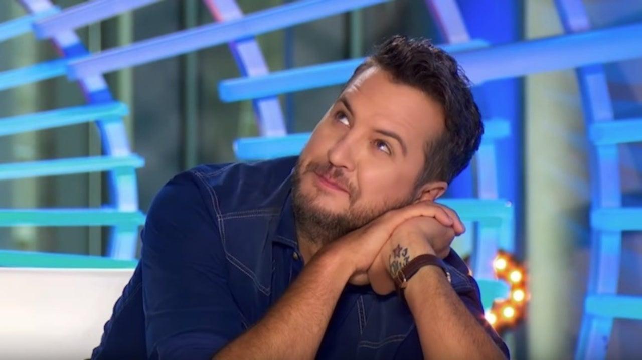 American Idol': Luke Bryan Hilariously Crushes on Model