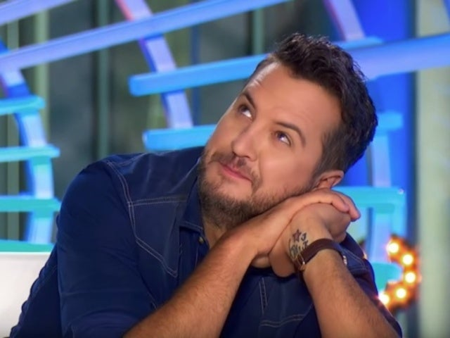 'American Idol': Luke Bryan Hilariously Crushes on Model Contestant Katie Belle