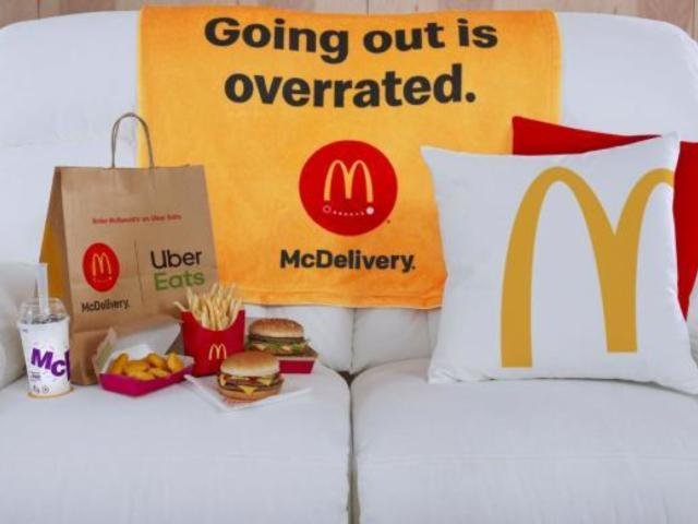 McDonald's Giving Away Free McDelivery La-Z-Boy Couch Complete With McFlurry Chillers