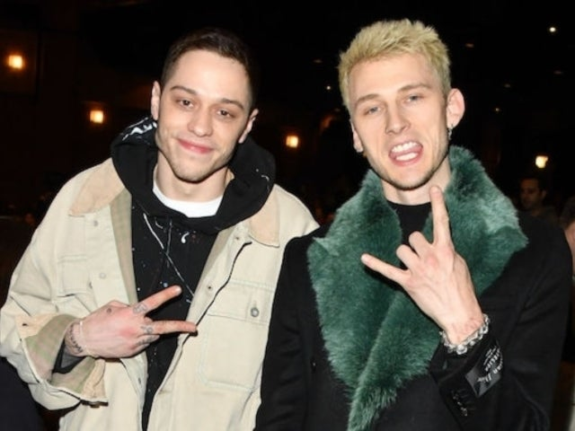 Machine Gun Kelly Weighs in on Friend Pete Davidson's Relationship With Kate Beckinsale