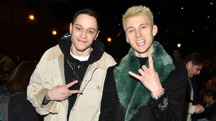 pete-davidson-machine-gun-kelly-getty-George Pimentel : Contributor