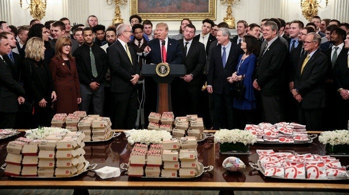president-donald-trump-white-house-fast-food-getty