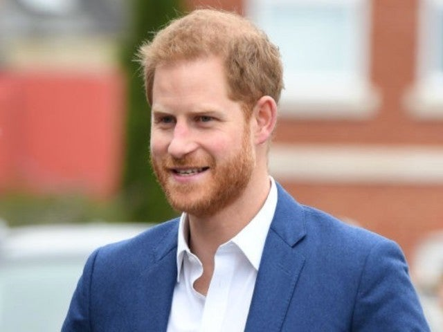 Prince Harry Receives Warm Welcome From Students Ahead of First Child's Birth