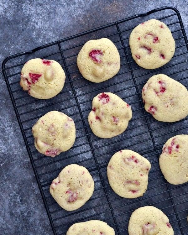 Raspberry-Lemon-Cheesecake-Cookies-Vegan-Gluten-Free-@spabettie