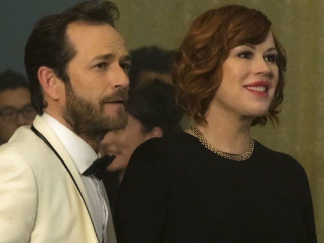 Molly Ringwald Pays Tribute to 'Riverdale' Co-Star Luke Perry on First Anniversary of His Death