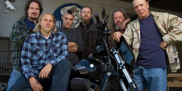 sons of anarchy cast getty images