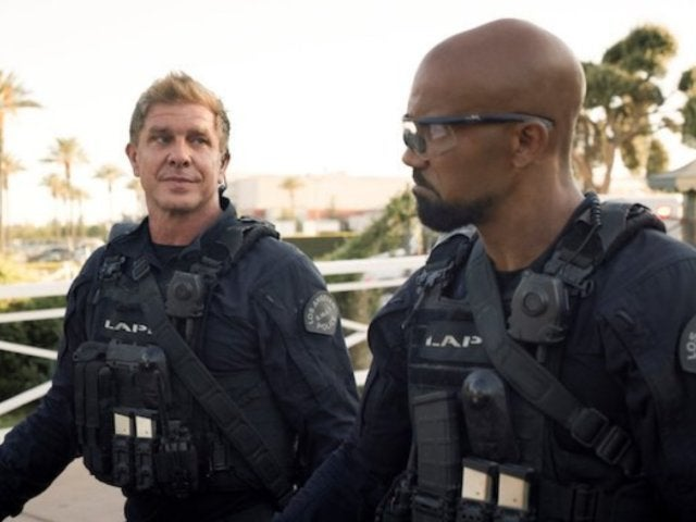 'S.W.A.T.': Shemar Moore Squads up With 'Sons of Anarchy' Alum Kenny Johnson on Set