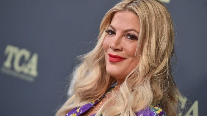 tori spelling getty images 2019