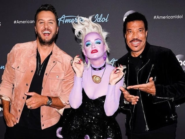 'American Idol' Judge Katy Perry Reveals Why Her Disney Night Villain Costume Was 'a Little Hard'