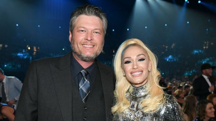 blake shelton gwen stefani acms CBS Photo Archive