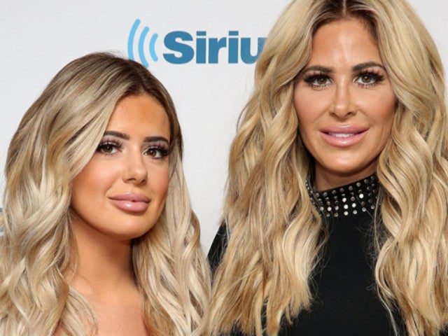 Kim Zolciak-Biermann and Daughter Brielle Get Cheeky in Risque Beach Snaps