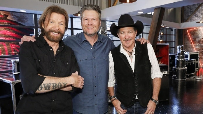 brooks and dunn the voice nbc