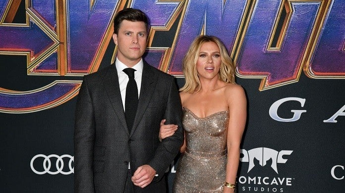 colin-jost-scarlett-johansson-getty