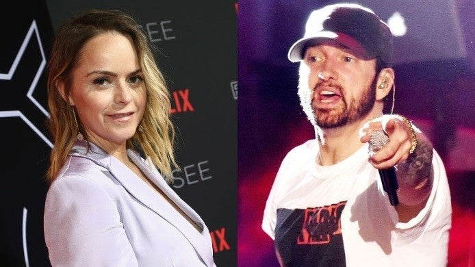 eminem taryn manning getty images