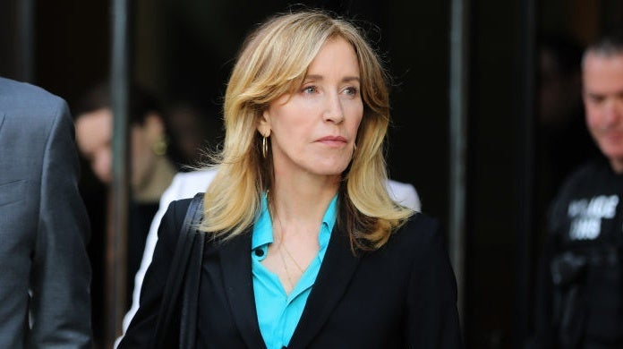 felicity huffman Boston Globe