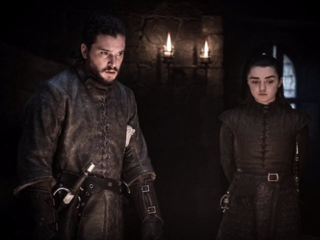 'Game of Thrones': See Kit Harington's Reaction to Arya's Winterfell Kill