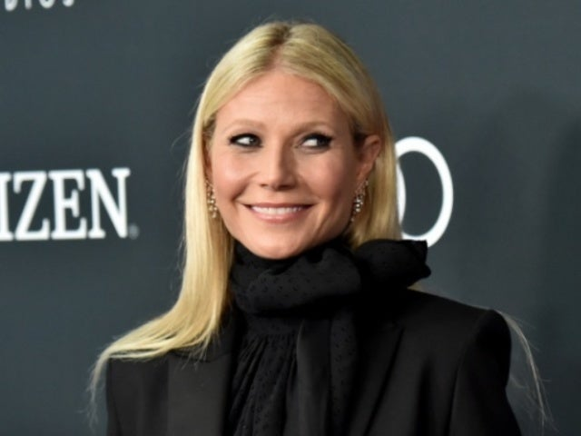 Gwyneth Paltrow Celebrates the Holidays With Topless Red Photo
