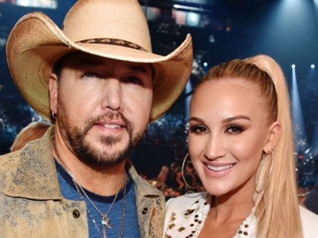 Jason Aldean and Wife Brittany Pose for 'Mom and Dad' Couples Photos Ahead of ACM Awards