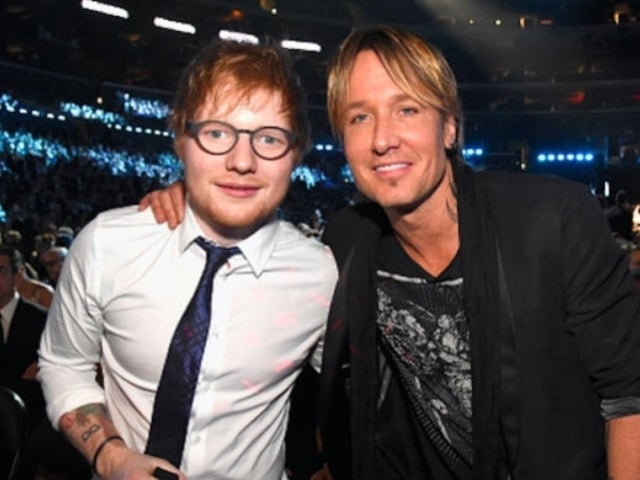 Keith Urban Credits Ed Sheeran With Inspiring Him to Record 'Burden'