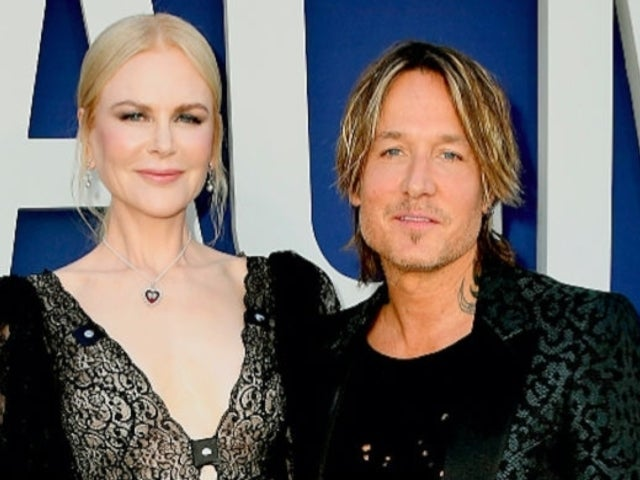Keith Urban's Wife Nicole Kidman Fawns Over Him During ACM Awards