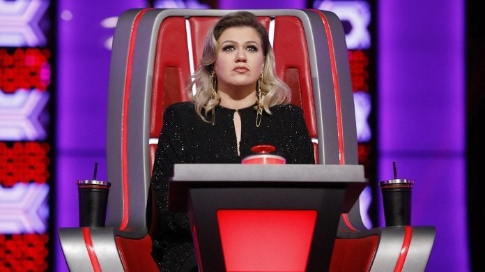kelly clarkson the voice nbc
