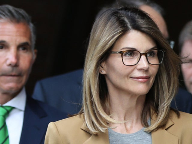 Lori Loughlin Is All Smiles While Hugging Daughter Bella Amid College Admissions Scandal