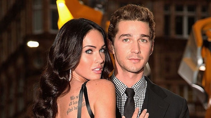 Megan Fox Posts Shia LaBeouf Throwback Pic, Cementing Past Romance: 'Once Upon a Time'