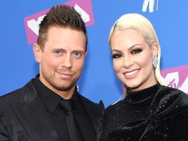 WWE Superstars the Miz and Maryse Deliver Baby Gender Reveal in Explosive Fashion