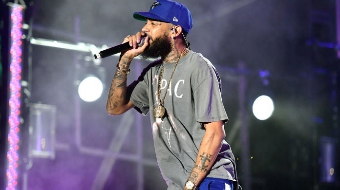 nipsey hussle getty images