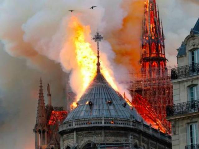 Notre Dame Cathedral Fire: Main Structure Is Reportedly 'Safe and Preserved'