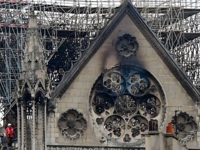 Notre Dame Cathedral Fire: Side-by-Side Before and After Photos Show Damage