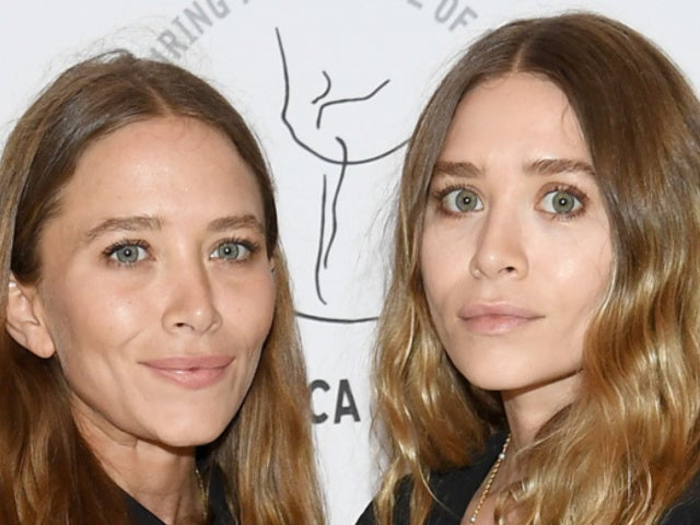 Mary-Kate and Ashley Olsen Coordinate Fashion Choices in Rare Red Carpet Appearance Together