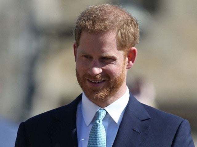 Prince Harry Steps out Without Meghan Markle for Royal Family's Easter Service