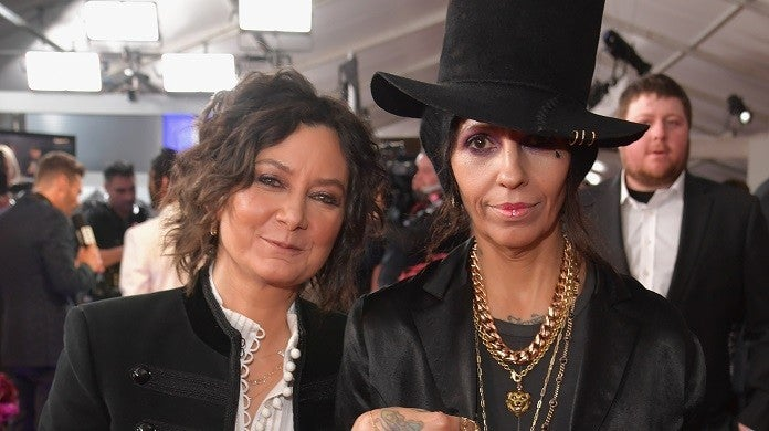 sara-gilbert-linda-perry-getty