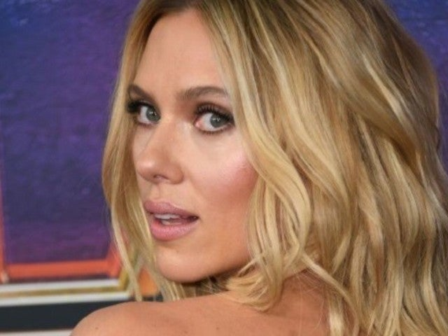 Scarlett Johansson's Giant Back Tattoo Was out in Full Force During the 'Avengers: Endgame' Premiere